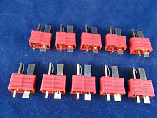 New 10 Male Deans style T-Plug Battery T-Connector T-Plug xt-t charge Lipo US
