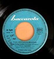 """Various - 4 Spitzenschlager (7"""", Single) Vinyl Schallplatte 12322"""