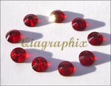5 x 1440 Pcs 50 gross DMC Hotfix Crystal Rhinestones Light Siam SS10, SS10F