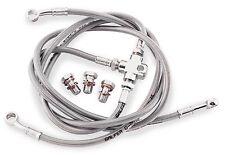 Galfer Brakes - FK003D343-3+2 - 3-Line Brake Line Kit, (+2in.)`