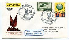 FFC 1979 Volo Postale Speciale Milano Coira Samedan FISA Swissair Italia