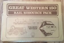 Great Western 150 Rail Resource Pack Thames-Severn 1984 25 Sheets Booklet Folder