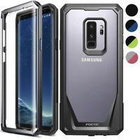 Poetic Clear Case For Samsung Galaxy S9 Anti-Slip Shockproof Cover