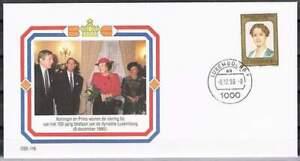 Envelop Royalty OSE-116 - 1990 Beatrix en Claus bezoeken Luxemburg 100 jaar