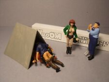 4  FIGURINES  1/43  SET 380  AU  BOIS  DE  BOULOGNE  VROOM  UNPAINTED  NO  NOREV