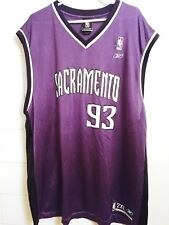 Ron Artest  93 Sacramento Kings Reebok Swingman Away Jersey Size 2XL purple   HT 7243c0fc0