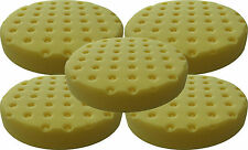 5 PACK Lake Country CCS Yellow Foam Cutting Pad 5.5 inch 7854550CCS-5