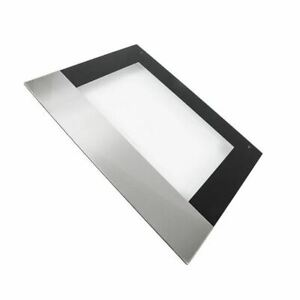 AEG COMPETENCE Oven Outer Door Glass Stainless Steel Inox Silver