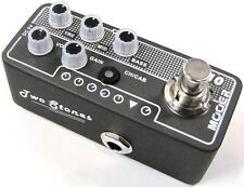 Used Mooer Two Stones 010 Digital Micro PreAmp Guitar Effects Pedal!