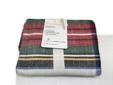 1 Pottery Barn Stewart Plaid Cotton Sham, Standard/ new/tags