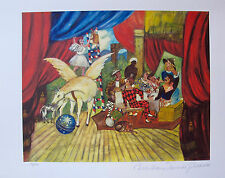 Pablo Picasso THEATRE Estate Signed Limited Edition Medium Size Art Giclee