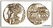 Pièces de monnaie antiques romaines romains en etain