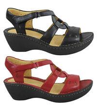Wedge Leather Comfort Sandals & Flip Flops for Women