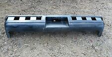 85-90 PONTIAC FIREBIRD FORMULA REAR BUMPER COVER USED GM OEM BLACK  SHELL # 3
