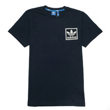 Adidas Originals Adi Trefoil Sports Essential Cult Shirt Classic Navy Blue White