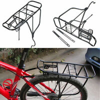 Cycling MTB Bike Bicycle Cycle Pannier Rear Rack Carrier Bracket Luggage 50Kg