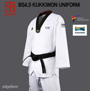 MOOTO BS4.5 KUKKIWON Uniform WT Dobok TKD Taekwondo