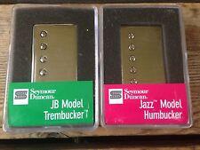 Seymour Duncan JB TB-4 Trembucker Jazz SH-2N Humbucker Pickup Set Nickel Covers
