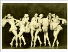 "*Postcard-""The 6 Showgirls...on Stage on Tiptoes""  -CLASSIC-"