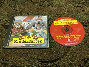 Video Game PC Jump Start Kindergarten - Classic Version  WINDOWS 95 PC GAME