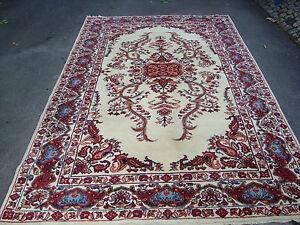 antiques-swiss****** Beautiful Antique Romany SARUGH ?? rug  6`5 x 9`6 ft