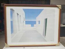 """Vittorio  Stoppa """" la siesta Cadaques """" - Spagna - Italia Italy 63×48 cm quadro"""