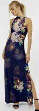 Monsoon Jasmine Maxi Dress Jersey Lotus Flower UK14 NWT Summer Holiday