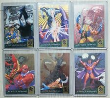 1994 FLEER ULTRA X-MEN COMPLETE FATAL ATTRACTIONS INSERT CARD SET #1 - 6 *M/NM*