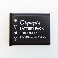 EN-EL10 Battery for Nikon Coolpix S3000 S220 S60 S210 S600 S520 -1 Year Warranty