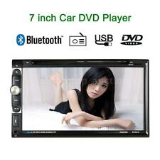 7inch 2 DIN Car Stereo DVD VCD CD Player Bluetooth FM Radio Aux Input Analog TV