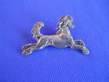 Stylized Chinese Crested Leaping Pin Pewter #22i Toy Dog Jewelry By Cac