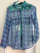Damen Bluse, NEU,  AMISU, Größe S,  transparent