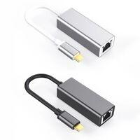 USB-C3.0 Transform RJ45 1000 MB Multifunction Aluminium Alloy Network Card S6K1