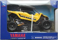 NewRay - Yamaha YXZ 1000R ATV / Side-By-Side Quad gelb 1:18 Neu/OVP