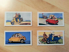 RARE 1960 - Ewbanks Miniture Bubble Cars & Scooter 25 Card Full Set - Lambretta