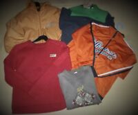LOT GARÇON-RENTREE DES CLASSES-SWEAT  DECATHLON-VESTE SPORT SKOTONE-T.12 ANS-