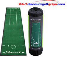 PUTT OUT PRO GOLF PUTTING MAT GOLF PRACTICE MATT GREEN