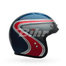 BELL Jethelm CUSTOM 500 SPECIAL EDITION AIRTRIX HERITAGE (58/59) L BLAU ROT