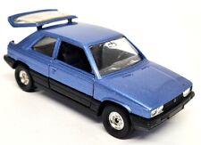 Corgi 1/36 - Renault 11 Electronic Metallic Blue Vintage Model Toy Car Boxed