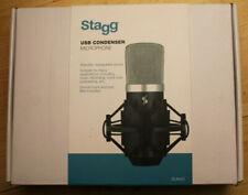 Stagg USB Condenser Microphone BLACK SUM40 - New in Box