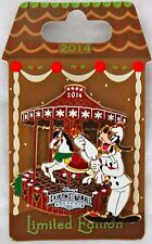 2014 Disney Beach Club Resort Gingerbread House Goofy Christmas Pin LE 1000