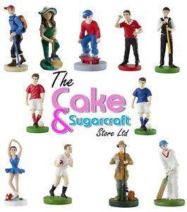 Cake Topper Decoration Figure Birthday Celebration Models Sports Free Delivery