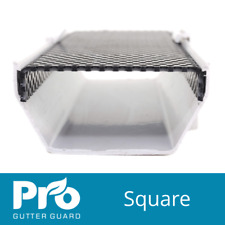 Pro Gutter Guard - Square 114mm - Leaf Guards - Gutter Guards - Gutter Brush