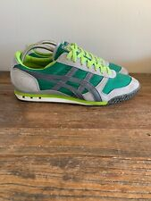 Asics Onitsuka Tiger Ultimate 81 CV HN201 Men's Size 9.5 M Rare Green Gray Lime
