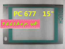 """For Siemens SIMATIC PANEL Protective film 15""""  For PC677-15 6AV7-802-0BC20-1AA0"""