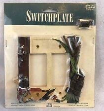 Vintage FIGI Duck Hunt 3D Double Rocker Switch Cover NIP Collectable