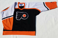 Philadelphia Flyers Jersey orange Mens XL x large white Alternate black NHL