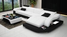 Ecksofa Couch Polster Eckgarnitur Wohnlandschaft Eckcouch Design Sofa  PHM3375