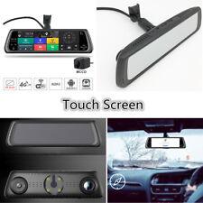 "10"" Inch HD Mirror Touch IPS 4G DVR Camera Rear Cam Recorder Car Kit GPS WIFI"