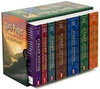 HARRY POTTER BOXED SET Books # 1 - 7 PAPERBACK J K Rowling box NEW pb children's